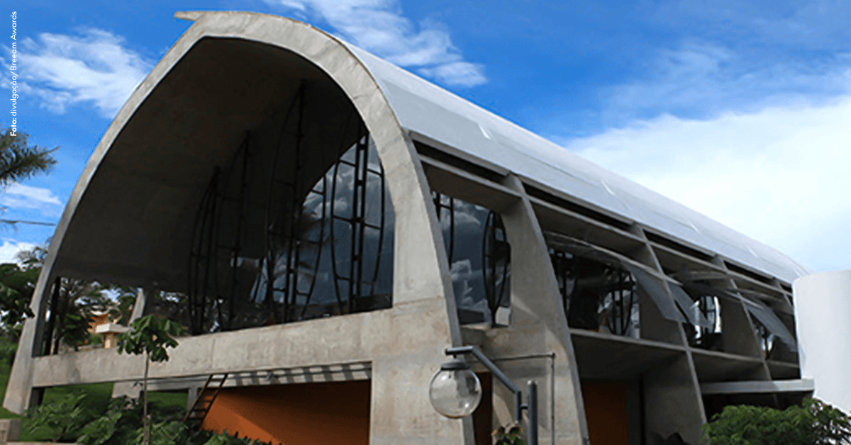 Construção brasileira vence prêmio internacional de sustentabilidade