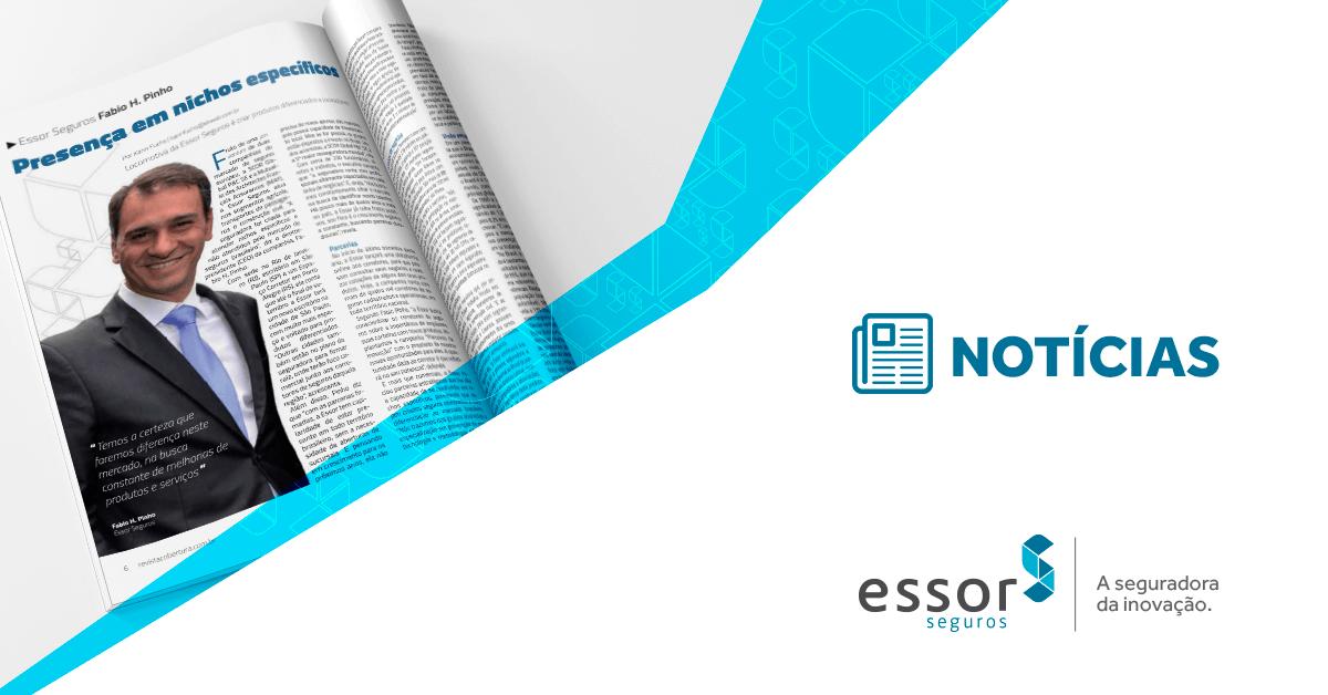 Inovação da ESSOR em destaque na Revista Cobertura